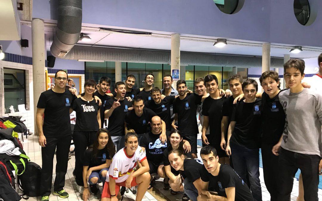 El Club Natación Adaptada Fuenlabrada  comienza la temporada con buenos resultados