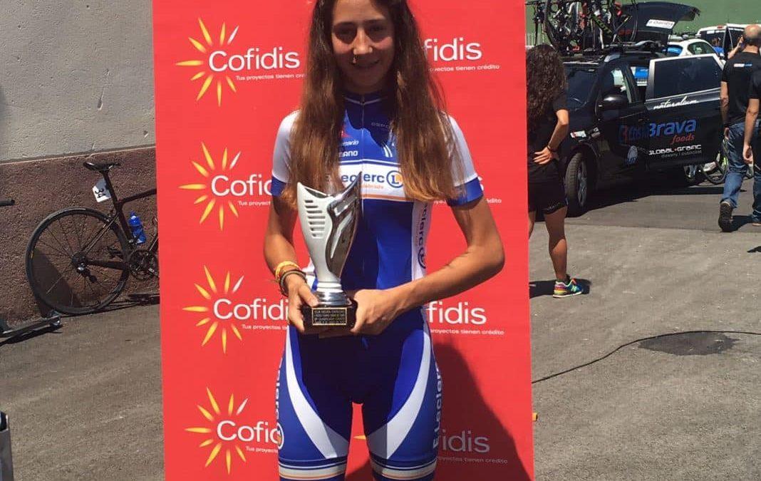 La fuenlabreña Carolina Esteban, seleccionada por la Federación Española de Ciclismo
