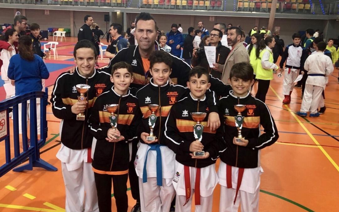 El club Seiken Do obtiene 16 medallas en el Campeonato de Madrid infantil de karate
