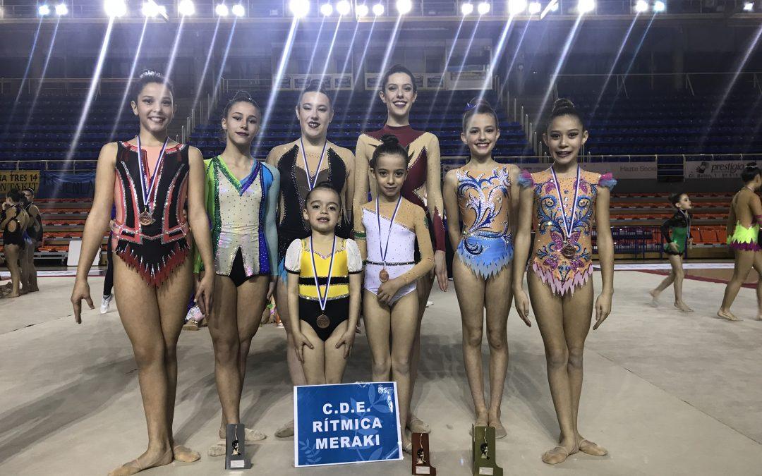 Las niñas del CDE Rítmica Meraki compiten en Toledo y en el programa de Deporte Escolar Municipal