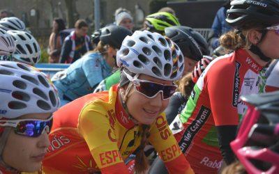 Carolina Esteban, una promesa que mantiene el buen nivel del ciclismo fuenlabreño