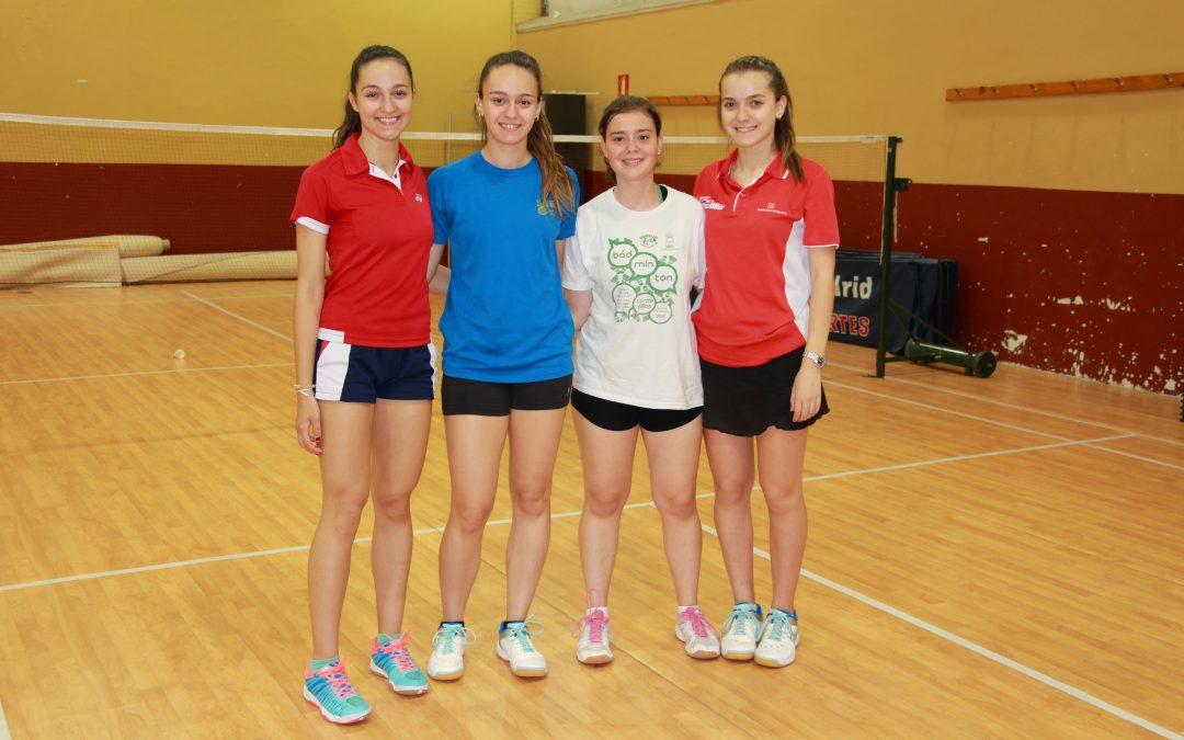 Las chicas del Club Bádminton Fuenlabrada elevan el nivel deportivo en nuestra ciudad