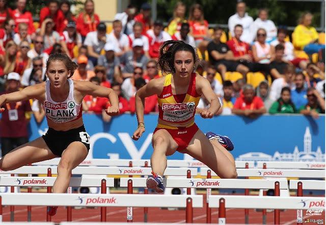 Resultados de los atletas del Club Atletismo Fuenlabrada en el Campeonato de Europa sub 18 y Campeonatos de España