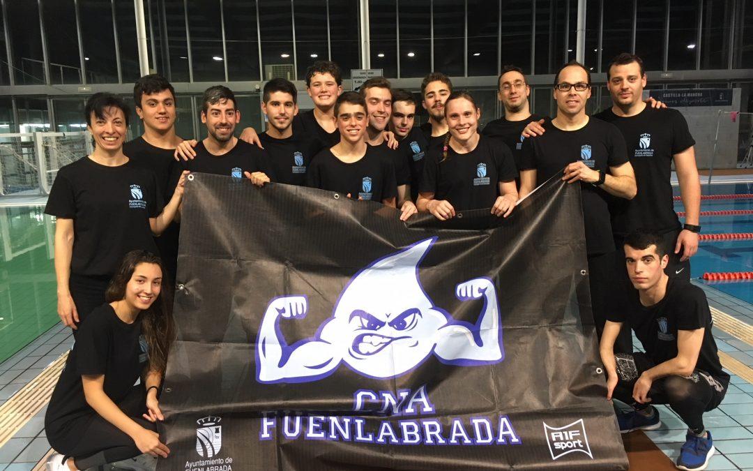 El Club Natación Adaptada Fuenlabrada se prepara para el Campeonato de España por Comunidades en el Open de Castilla la Mancha