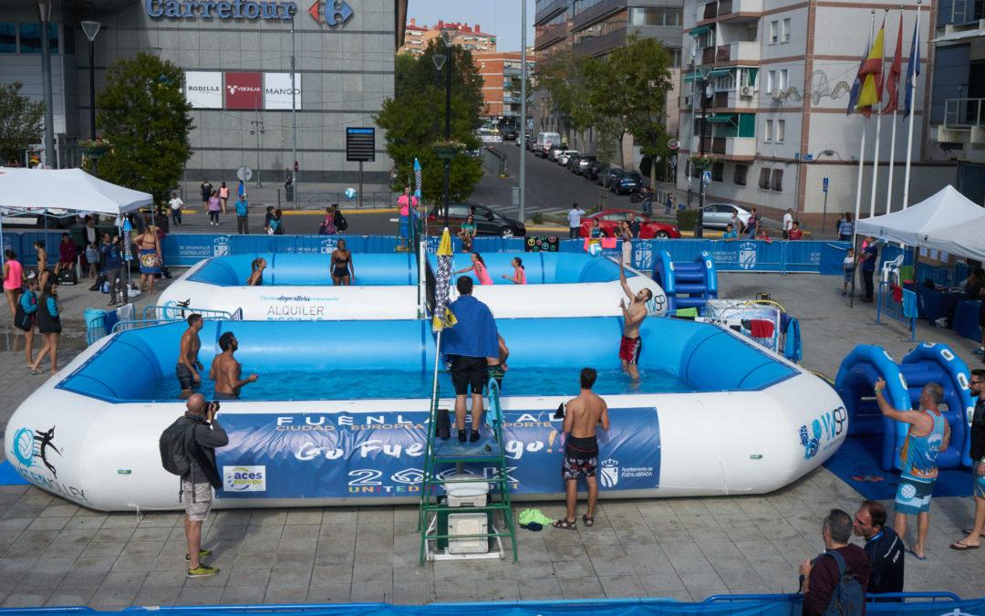 Éxito de participación en el Torneo de Water Voley GofuenlaGo