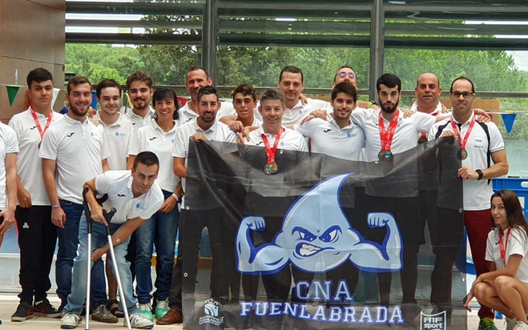 El Club Natación Adaptada Fuenlabrada comienza la temporada en los II Juegos Parainclusivos de la Comunidad de Madrid