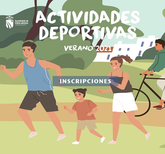 Actividades deportivas Verano 2021