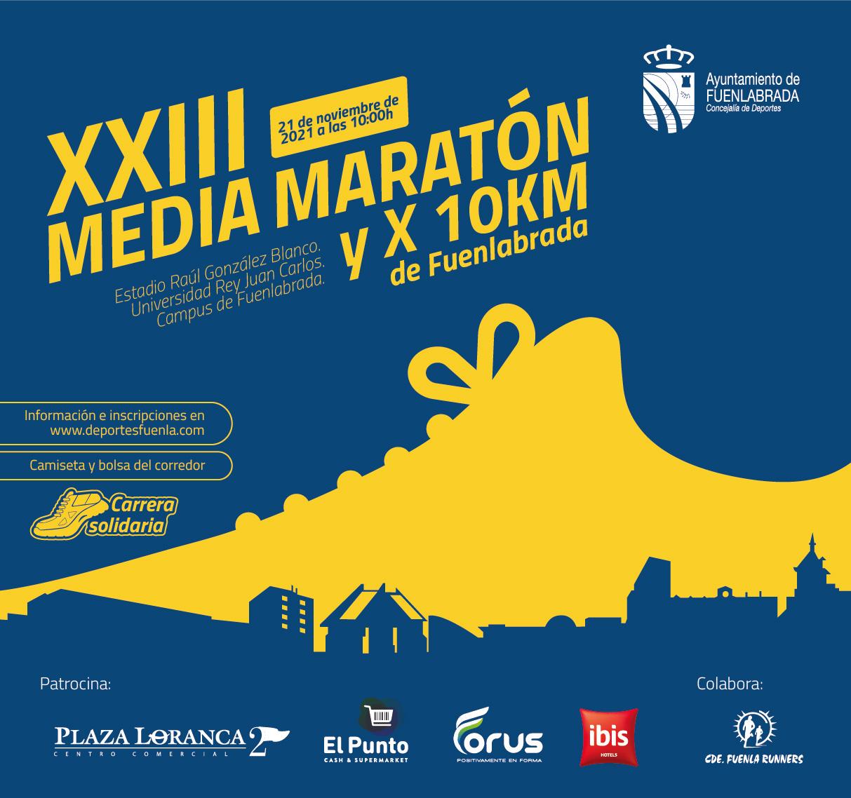 XXIII Media Maratón y 10 Km de Fuenlabrada